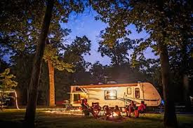 RV Camp with Friends
