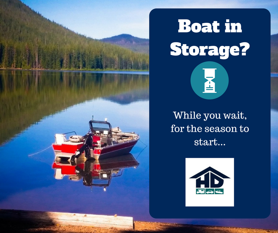 Boat in Storage- Things to do while you wait