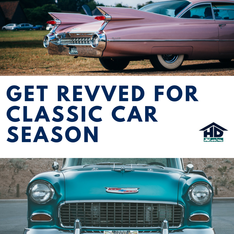 Get Revved For Classic Car Show Season! – HD Indoor Storage News