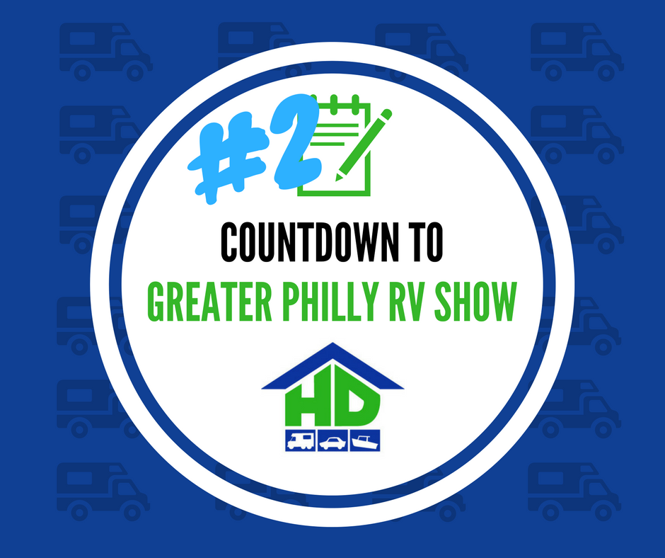 2 As We Countdown To The Philly Rv Show